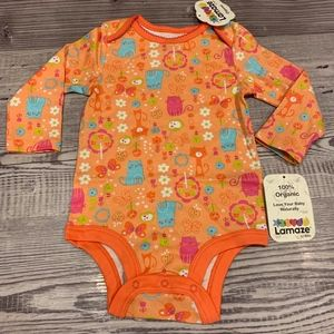 Organic Cotton Spring Cats Bodysuit